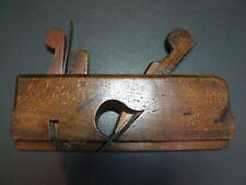 "18th Century wooden 5/8"" dado plane vintage old tool"