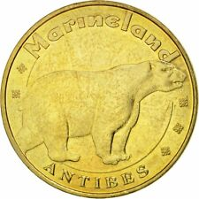 [#537565] France, Token, Touristic token, 06/ Antibes - Marineland - Ours