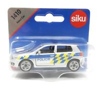 Siku Czech Edition #1410 VW Volkswagen Golf VI Police Policie blister card