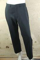 KARL LAGERFELD Taille 46 Superbe pantalon habillé noir homme laine vierge
