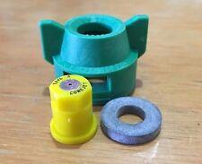 TeeJet Tx-Vs-3 ConeJet VisiFlo Hollow Cone Spray Tip Lot 25 Free Caps & Gaskets