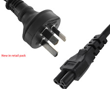New Genuine Dell TK957 1M/3Ft, 3-Pin Clover Leaf Plug Power Cord, retail pack