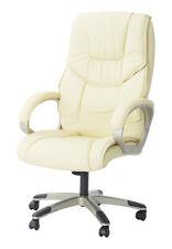 Homcom High Leather Adjustable Office Chair -Black