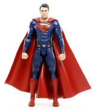 "DC Man of Steel Movie Masters SUPERMAN 6.25"" Action Figure Mattel 2013"