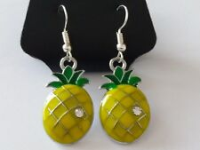 Rockabilly Piña Pendientes, Kawaii, Kitsch, 50s, Retro.