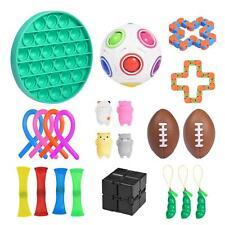22 Stück Sensory Zappeln Anti Stress Spielzeug Für Und Angst Mit Angstlust, ADHS