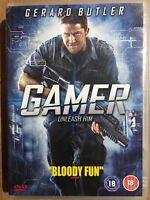 Gerard Butler Alison Lohman GAMER ~ 2008 Neveldine + Taylor Action Film | UK DVD