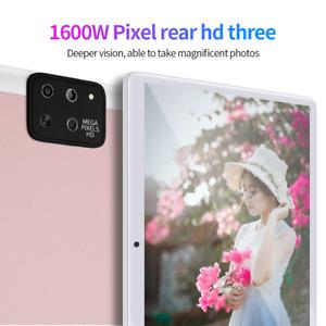 "10.1"" 8+256GB Android 10.0 Tablet PC 5V/2A HD WIFI GPS Dual SIM Cam G-sensor IPS"