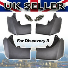FOR LAND ROVER DISCOVERY 3 NEW FRONT REAR MUDFLAP SET MUD FLAPS KIT 2005-2009