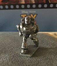 2005 Pixar Disney Buzz Lightyear Monopoly Pewter Game Mover Figure Toy Story HTF