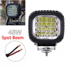 "5"" 48W LED Driving Spot Lights UTV TRUCK 4x4 OffRoad Watts Waterproof Work Light"