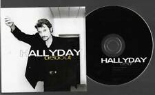 cd  neuf promo hors commerce JOHNNY HALLYDAY debout mono titre