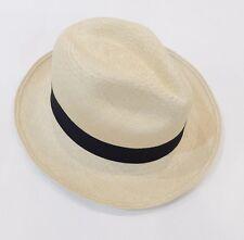 NWT J Crew Panama Straw Hat in Natural Size M-L M/L 23793 Natural