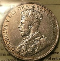 1913 CANADA SILVER 50 CENTS - ICCS VF-30