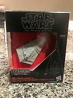 Star Wars First Order Star Destroyer The Black Series Titanium #06 NIB