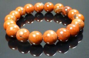 Red Jasper Bracelet Natural Therapeutic Gemstone