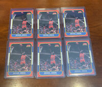 🔥6 Michael Jordan Rookie Card Reprint Lot. Free Same Day Shipping