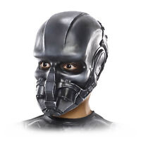 Kids Boy's General Zod Superman Man of Steel Cosplay Halloween Costume 3/4 Mask
