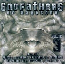 GODFATHERS OF HARDCORE 3 = Ophidian/Earmack/TMT/Weapon...=2CD= HARDCORE GABBER