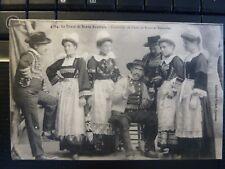 CPA 1912 LeTireur de Bonne-Aventure-Costumes de Fétes Scaer et Bannalec 32954