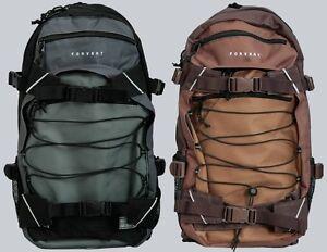 Forvert Rucksack/Backpack Threecolor Louis Grey/grau, Brown/braun