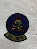 31 TES Patch Vintage 31st Test & Evaluation Squadron