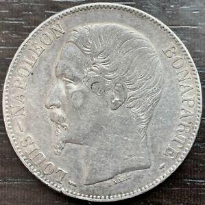 Louis Napoleon - 5 Francs 1852 Paris