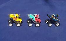 Vintage Silverlit Toys Mini Trucks LOT of  (3)  Push and Go VHTF