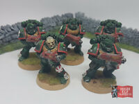 Space Marine Squad Bolters x 5 Warhammer 40k (Well Painted)
