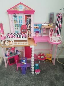 Barbie 2 Storey Dream House with Furniture and Accessories