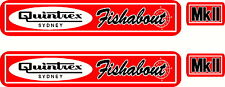Quintrex Fishabout MkII Fishing, Boat, Sticker Decal Set