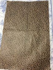 """Animal Print print Tissue paper Gift wrapping 4 sheets 30"""" x 20"""" Each Bag"""