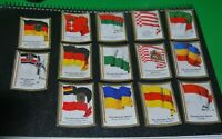 German Vintage Cigarettes Card. GERMANY. Flags of countries (World War I). RARE