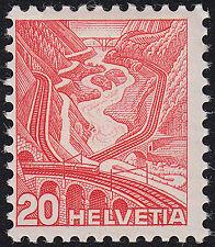 Schweiz Mi.Nr. 301 yl ungebraucht m. Falz Mi.Wert 100€ (6531)