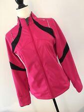 Women's SAUCONY Running Jacket Small Pink / Soft shell Lightweight