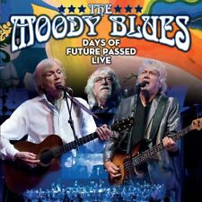 THE MOODY BLUES - DAYS OF FUTURE PASSED (LIVE IN TORONTO 2017)  2 CD NEU