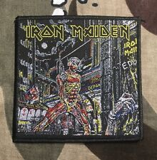 Iron Maiden Somewhere In Time Woven Patch I014P Metallica Blind Guardian Slayer