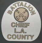"LA COUNTY Battalion Chief ""EMERGENCY 51"" FIRE Sticker Decal"