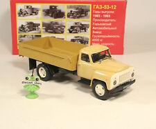 1:43 GAZ 53 -12 Pritsche russian LKW USSR URSS UdSSR DDR Russland soviet