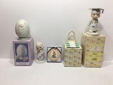 Enesco Precious Moments Lot (5) Figurines The Porcelain Different