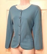 Ladies/ Women's career cardigan by New York & Company~ blue ~ size XL