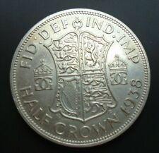 More details for 1938 king george vi bare head 1 silver half crown ref spink 4080 a1