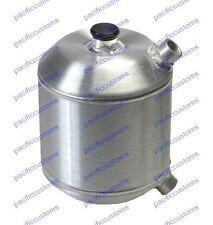 Oil Reservoir Spun Aluminum Dry Sump Tank - 1.5 Gallons - 9 In X 8 In Diameter