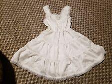 Vintage Toddler Sz 42Girl Full Slip Petticoat e Nylon w/Lace Trim 2 Tier