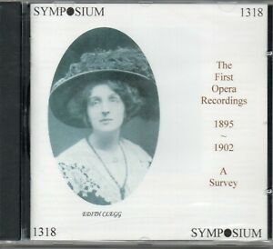 ABENDROTH - ASCH - APOSTULO - THE FIRST OPERA RECORDINGS 1895 TO 1902 A SURVEY