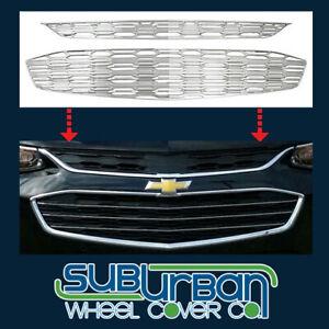 2016-2018 Chevrolet Malibu # GI144 2 Piece Chrome Grille Insert Overlay # GI/144