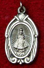 Nun's Vintage Infant of Prague Catholic Shrine Pilgrimage Sterling Silver Medal