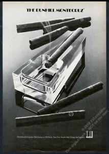 1973 Alfred Dunhill Montecruz cigar photo vintage print ad