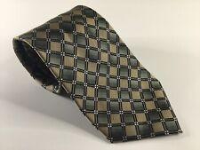 Platinum Designs Neck Tie Silk Necktie New Neckwear NWOT Green Brown