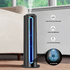 Luftbefeuchter 7L 28W 360° Aroma Diffusor Ionisator UV LED Screen Humidifier50Hz